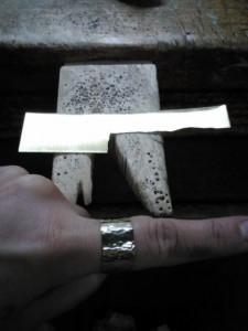 creating a ring from raw materials